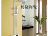 正品全铜博隆卫浴淋浴 花洒全铜升降花洒套装方形