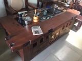 老船木茶桌椅组合 龙骨实木茶台厂家直销