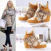 欧美ash Isabel Marant明星最爱真皮高帮鞋 内增高运动休闲鞋女鞋