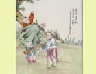 北京珠山八友瓷板画如何鉴定想快速出手