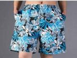 沙滩裤男速干夏季海边宽松平角泳裤度假大裤衩加肥加大码五分短裤