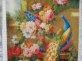 花开富贵之孔雀牡丹