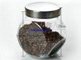 zakka厂家生产供应储物密封罐 玻璃调味瓶 调料瓶 糖缸 正斜