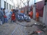包头楼房拆除改造,地基设备下沉注浆处理
