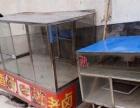 出售小吃卤菜玻璃柜子。大小碟子炉子不锈钢桶。。