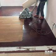 厦门磨旧木地板 地板翻新--首选 妙点专业木地板翻新服务