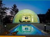 恒诺篷房上海直销 球形展览帐篷 户外露营半圆形酒店篷房可定制