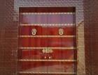 定做实木进户门庭院双开门榆木大门仿古中式素门