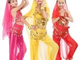 新款儿童印度舞服装女童舞蹈服新疆舞民族舞天竺少女肚皮舞演出服