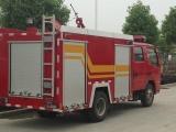 自贡市东风锐铃水罐消防车参数,小型消防消防车厂家