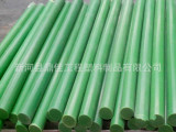 厂家定做绿色尼龙棒 绿色含油耐磨尼龙棒 空心绿色尼龙棒一只定做