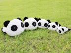 厂家直发35厘米毛绒玩具趴趴熊猫 熊猫公仔 毛绒抱枕车载玩具
