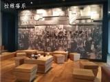 上海星巴克咖啡厅实木家具星巴克实木桌椅定做定制厂家