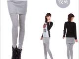 秋季爆款包臀裙裤假两件韩版显瘦外穿打底裤一件起批