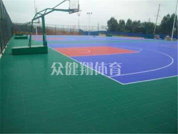 广西学校悬浮拼装地板厂家直销——玉林悬浮拼装地板