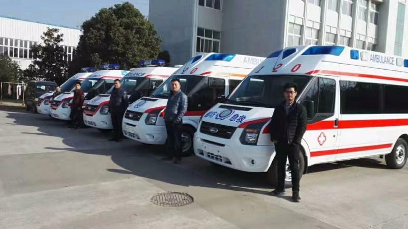 救护车出租,重症呼吸机急救车,长途跨省护送,私人救护车