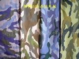 涤棉方格子布,迷彩印花军训服用抗撕裂布9