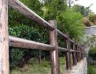 仿木栏杆 仿木花箱 仿木路沿石 小区花架