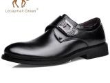2015厂家直销春季男士皮鞋 时尚男鞋英伦商务休闲舒适百搭单鞋