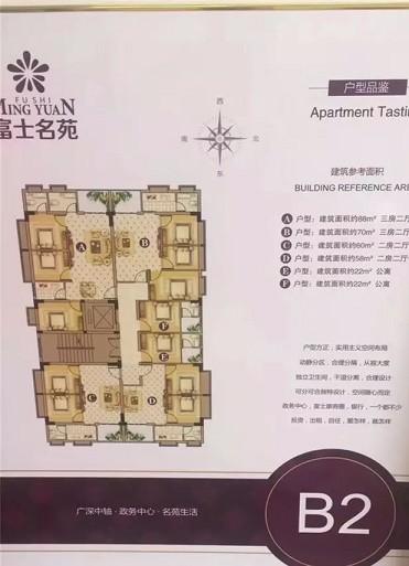 投资博罗26栋花园洋房,富士名苑精装修2550每平起