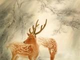 书画投资收藏必备,中美协画家蓝健康老师作品出售