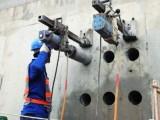 太原建设北路安装暖气水管,改独立下水道,水钻打眼打孔
