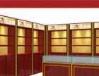 定做木制烟酒展柜货架红酒白酒展示柜玻璃柜台精品货柜烟酒陈列柜