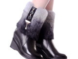 发热鞋 电热鞋   保暖鞋  雪地靴 女靴子
