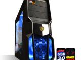 电脑主机 iG/HD7750独立显卡 DIY组装机 组装电脑 主