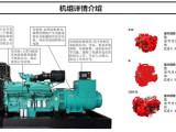 廣西供應800KW康明斯柴油發電機組 性能優越 終身維護