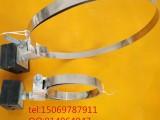 adss光缆杆用引下线夹,钢带抱箍绝缘夹块全套价格
