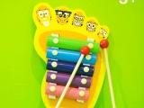儿童早教音乐玩具教具 5音阶手敲琴 海绵