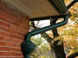 彩铝檐沟落水系统金属方形管圆管成品天沟下