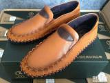 广州高端男鞋工厂批发品牌男休闲皮鞋,正装商务男鞋,豆豆驾车鞋