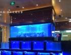泰州大型鱼缸定做海鲜池酒店鱼缸