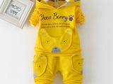 厂家批发 宝宝童套装2015男女童春秋装新品休闲纯棉儿童长袖套装