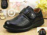 2015新款男童黑皮鞋头层牛皮童鞋一件代发学生演出鞋真皮童鞋秋季