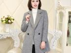 2015秋冬女装新品双面毛呢大衣女式中长款羊绒大衣宽松风衣女外套