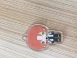 东莞寮步pvc软胶钥匙扣uv平板打印机