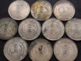 大连回收老钱币邮票纸币银元袁大头纪念币连体钞吉林银币
