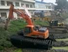 2018梧州市岑溪市水路挖掘机出租水上挖掘机出租