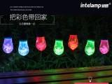 太阳能萌晶晶灯串(12头)