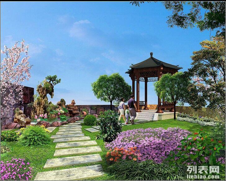 造景观私家庭院设计施工后付款水山园路桥溪流