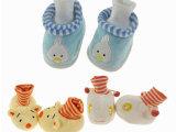 外贸原单婴儿鞋 男女宝宝造型棉鞋鞋 罗口软底步前鞋 三色