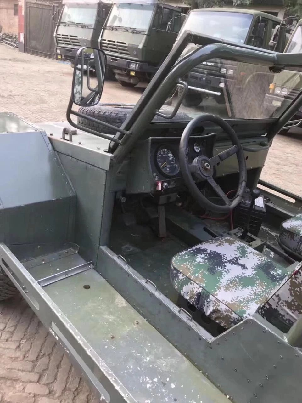 部队退役伞兵突击车