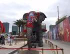 梅州商业庆典机械大象出租助阵活动 地产活动机械大象租赁暖场