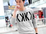凯邦威格品牌男装 广州外贸男式毛衫   时尚都市韩版针织毛衣男