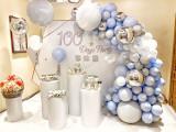 天津生日气球布置策划寿宴气球布置