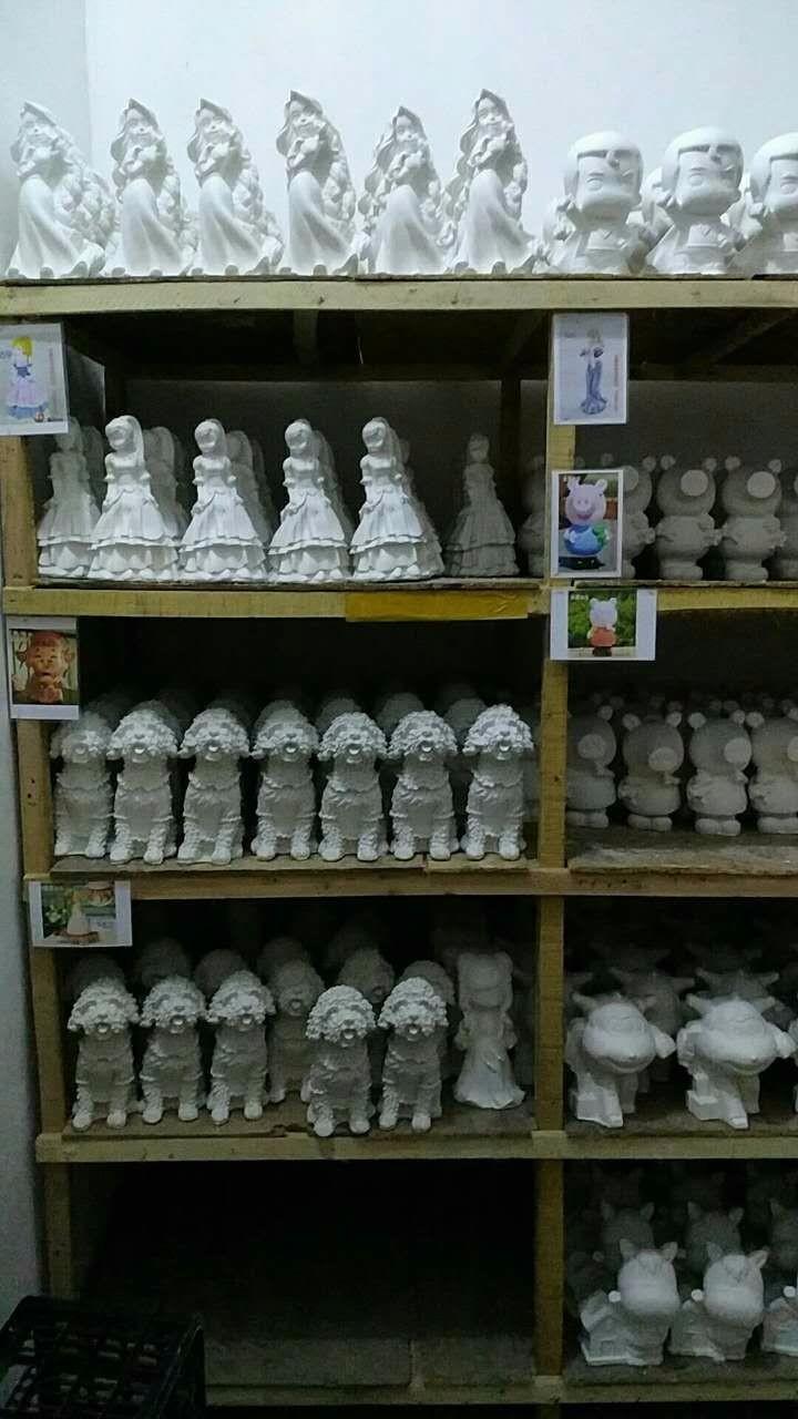 大量批发石膏娃娃大量批发石膏像