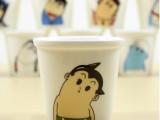 新品 zakka  歪脖子 创意迷你卡通杯 陶瓷杯牛奶杯杯子